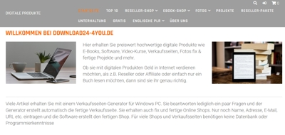 DIGITALE PRODUKTE DER SHOP